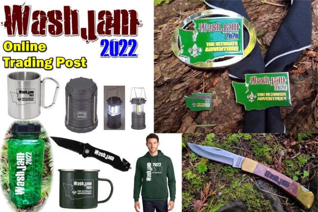 The WashJam 2020 Trading Post is OPEN!