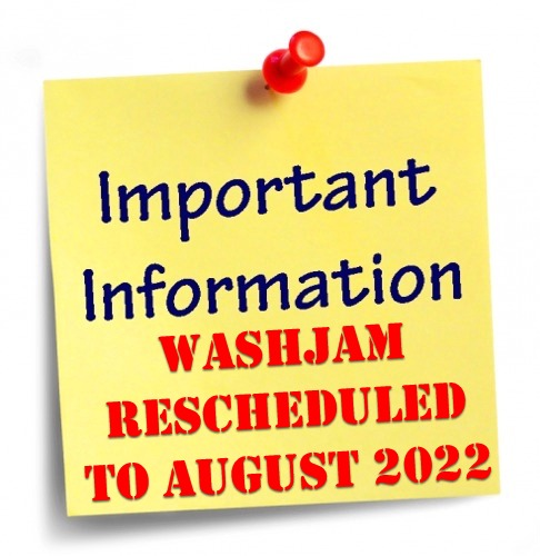 WashJam 2020 Rescheduled to August 2021